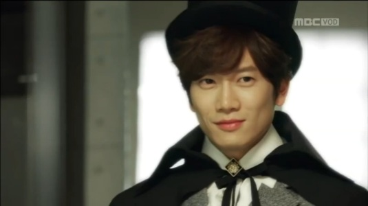 No no, Mr. X is not a magician lol. He's the female Do Hyun's father
